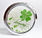 Zrkadielka - čtyřlístek pro štěstí - text na přání - 5444283_