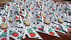 Pierka - Svadobné pierka - Štvorlístkový FOLK - 5447105_