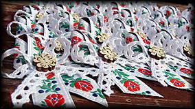 Pierka - Svadobné pierka - Štvorlístkový FOLK - 5447111_