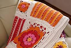 """Úžitkový textil - """"Pari"""" deka z čistej bavlny - 5447875_"""