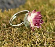 Prstene - Prsteň s kvetom maličkým - 5447517_