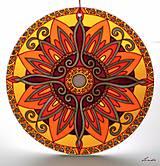 Dekorácie - Mandala Vnútornej Sily - 5448687_