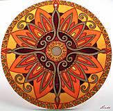 Dekorácie - Mandala Vnútornej Sily - 5448688_