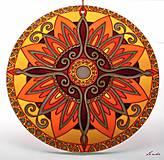 Dekorácie - Mandala Vnútornej Sily - 5448690_