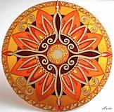 Dekorácie - Mandala Vnútornej Sily - 5448691_