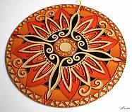 Dekorácie - Mandala Vnútornej Sily - 5448692_