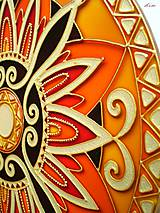 Dekorácie - Mandala Vnútornej Sily - 5448695_