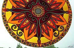 Dekorácie - Mandala Vnútornej Sily - 5448696_