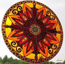 Dekorácie - Mandala Vnútornej Sily - 5448685_