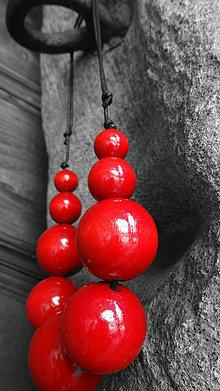 Náhrdelníky - Čerešňové molekuly - 5449453_