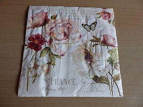 Papier - ruže 3 - 5447644_