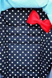 Textil - Podložka s mašličkou - 5450319_