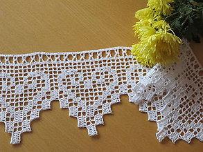 Úžitkový textil - čipka srdiečková - 5449916_