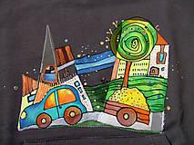 Detské oblečenie - Mikina s reflexnými prvkami - auto - 5451852_