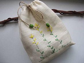 Úžitkový textil - Vrecko na bylinky-repík - 5452473_