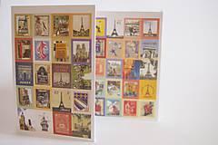 Papier - Sada dekoračných samolepiacich známok 1 - 5452673_