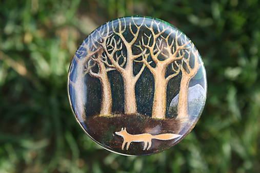 Zrcátko Liška pod stromy