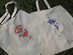 Nákupné tašky - taška s ľudovým ornamentom - 5449839_