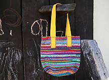 Veľké tašky - Háčkovaná taška Tarka Barka - 5450548_