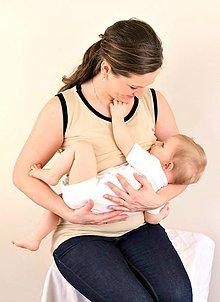 Tehotenské/Na dojčenie - 3v1 tielko pre tehotné, dojčiace, nedojčiace - 76 faireb - 5454588_
