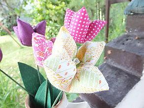 Dekorácie - Tulipány jarné - 5453512_