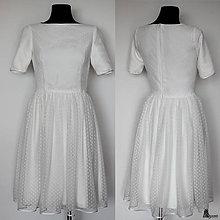 Šaty - Tylové spoločenské šaty rôzne farby - 5454123_