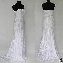 Šaty - Svadobné šaty strihu
