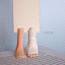 Papiernictvo - Záložka kniho-nôžka - 5455204_