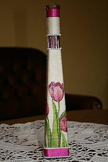 Dekorácie - Váza - tulipán - 5457255_