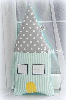 Textil - Vankúš DOMČEK z kolekcie MINT 20x35 - 5462427_