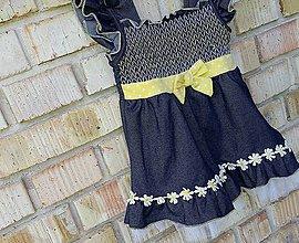 Detské oblečenie - Šaty pre parádnice - 5459648_