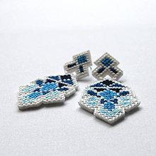 Náušnice - cross - 5460210_