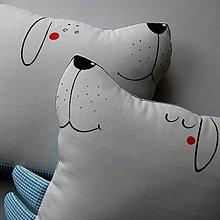 Úžitkový textil - LÁSKA ŇAFÍKOVÁ ♥♥♥ - dvojpolštář - 5462436_