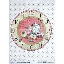 Papier - ryžový papier hodiny - 5461789_