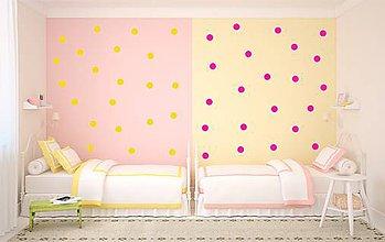 Dekorácie - Nálepka na stenu - Guličky priemer 4 cm - 5464511_