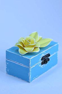 Prstene - Krabička - Jarné vtáča - 5463539_