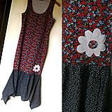 Šaty - Kvietky a botky - 5466172_