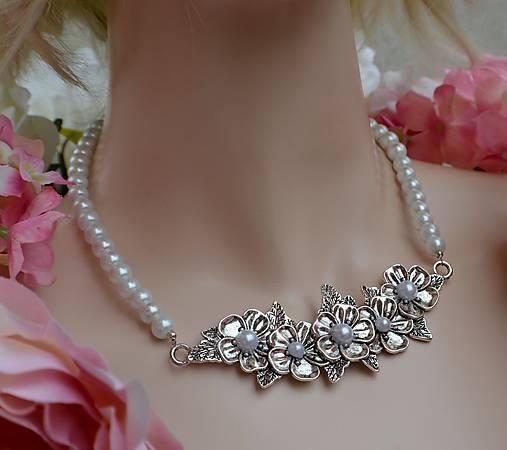 aac25b53d6fa Svadobný náhrdelník Vintage style   spirale - SAShE.sk - Handmade ...