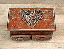 Krabičky - Čokoládové srdce - 5464053_