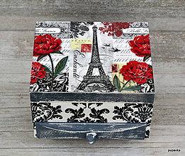 Krabičky - Ruža v Paríži - 5463312_