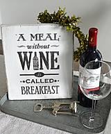 - Tabuľka pre milovníkov vína - 5464676_