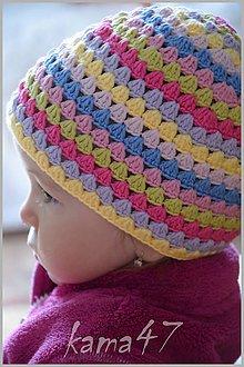 """Detské čiapky - Jarno-letná... """"MIX"""" - 5467733_"""