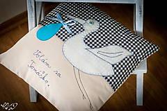 """Úžitkový textil - Vankúšik """" Volám sa Tomáško"""" - 5469204_"""