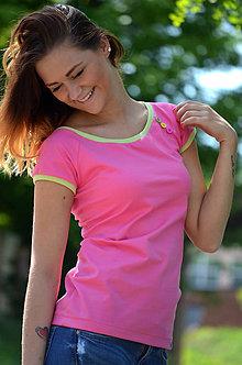 Tričká - Tričko v barvičkách-mnoho barevných variant!! - 5469845_