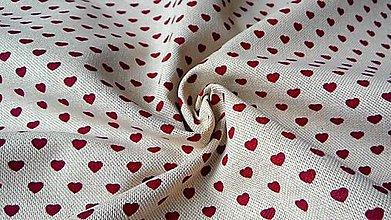 Textil - Bavlna režná - cena za 10 cm - 5469400_