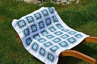 Textil - Skladom-Háčkovaná deka - 5468877_