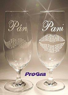 Nádoby - Stella - svadobné poháre - 2ks - 5466332_