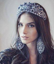 Ozdoby do vlasov - Čelenka-Korunka nr.5 - kolekcia Miss Slovensko 2015 by Hogo Fogo - 5466791_