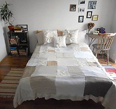 Úžitkový textil - Prikrývka ala Provence - 5466910_