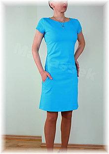 Šaty - Šaty volnočasové vz.257 (Bordová) - 5472223_
